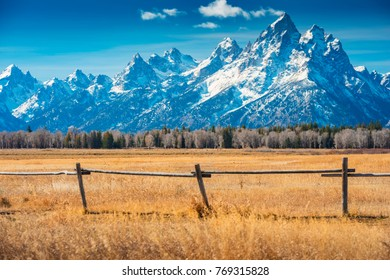 Grand Teton National Park, Wyoming, United States of America.