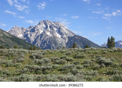 Grand Tetons Mountain View
