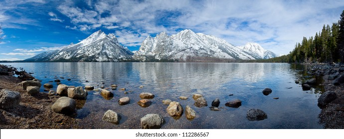 Grand Tetons National Park, Jenny lake