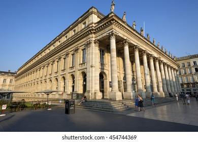 Grand Theatre, Bordeaux, Gironde, Aquitane, France 09-07-2013