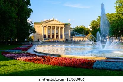 Grand Theatre -  neoclassical opera house located in Poznań, Poland