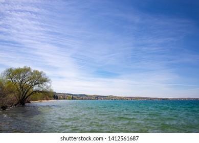 grand traverse bay traverse city Michigan lake Michigan shoreline