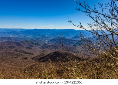 Grand view of the Appalachian Mountains
