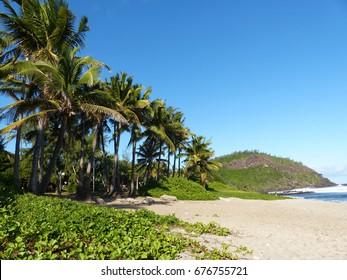 Grande Anse Beach, La Réunion island, june 2017