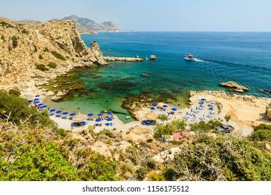 Grande blue, Stegna, Rhodes island, Greece