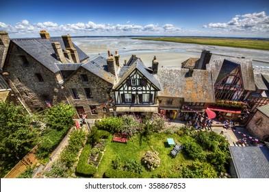 Grande Rue, Village of Saint Michael's Mount, Normandy, France