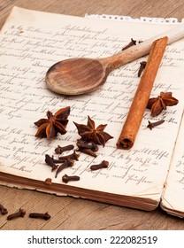 Grandma's handwritten recipes