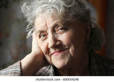 Grandmother face