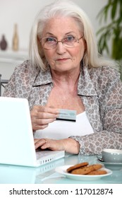 grandmother shopping online