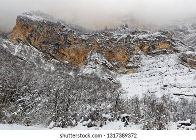 The Grands Goulets gorges in Vercors, French Alps
