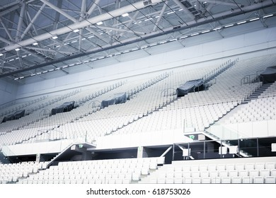 grandstand in a sports stadium