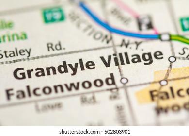 Grandyle Village. New York (State). USA.
