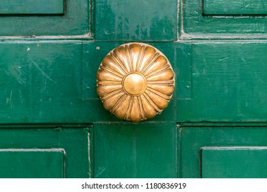 The Grange, door handle,  architectural detail. The Grange a historic Georgian house in the downtown district. It is the 12th oldest surviving building in the city