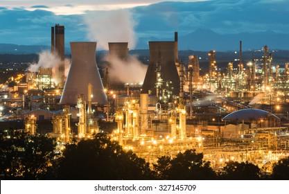 Grangemouth Refinery, Scotland