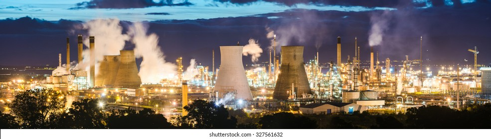 Grangemouth Refinery, Scotland