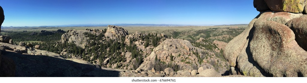Granite outcrops at Vedauwoo, Wyoming