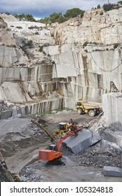granite quarry in Cadalso de los Vidrios, Madrid