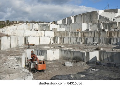 granite quarry located on madrid province