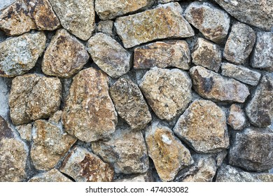 granite rock stone overlap on wall