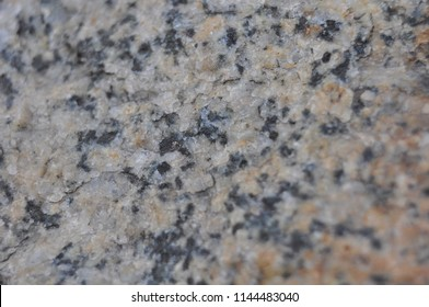 Granite stone closeup black brown