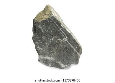 granite stone isolate on white background