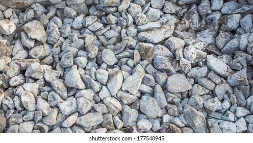 Granite stone on floor