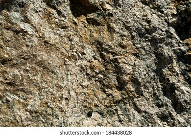 granite surface with a brown shade
