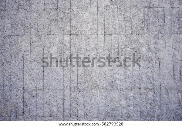Granite tile wall