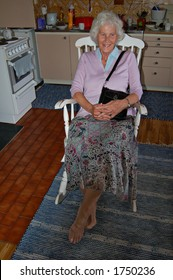 Granny in rocking chair