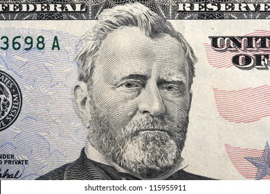 grant on the fifty dollar bill