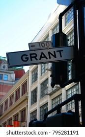 Grant Street, main street of San Francisco's Chinatown