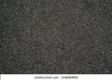 Granularity asphalt road dark clean freeway or highway texture background