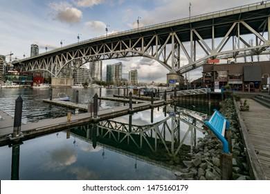 Granville Bridge, Granville Island, Vancouver, British Columbia, Canada