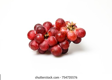 Grape isolated on white background. Beautiful color and delicious.