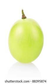 Grape isolated on white, clipping path included