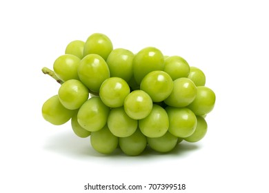 Grape named Shine Muscat