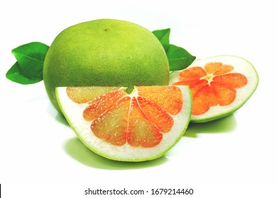 Grapefruit isolate on a white background
