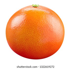 Grapefruit isolated. Grapefruit on white background. With clipping path. Full depth of field.