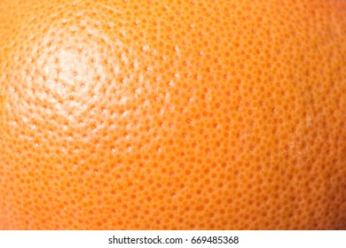 Grapefruit skin texture