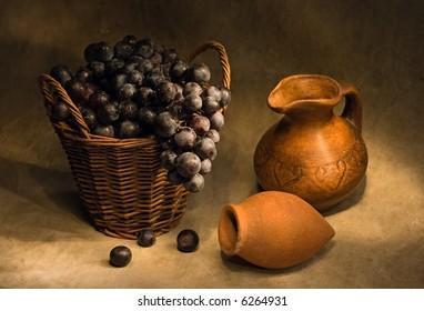 Grape-gathering