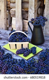 Grapes and firewood