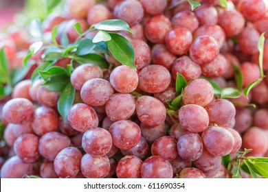grapes for sale at a market