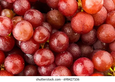 grapes seedless red textured background.