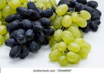 grapes white blue