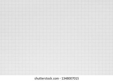 Graph grid scale paper graphic for design icon. White note book texture with lines. top view.