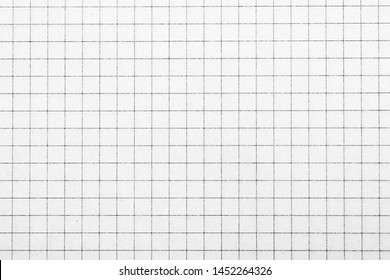 Graph grid scale paper graphic for design icon. White paper note book texture with lines. top view.