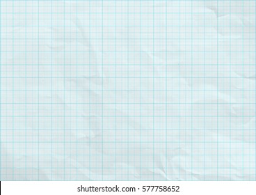 Graph paper background texture