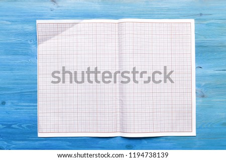 graph paper project drafts copy space stock photo edit now