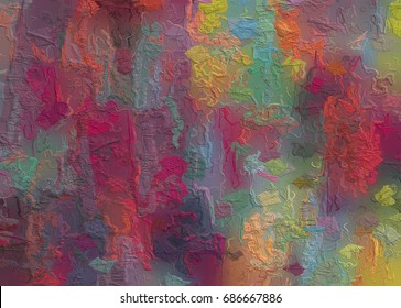 graphic illustration abstract background - grunge wall painted style