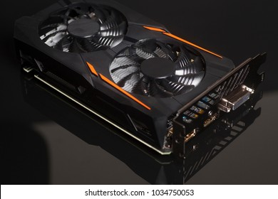Graphic videocard for crypto currency mining and computer game